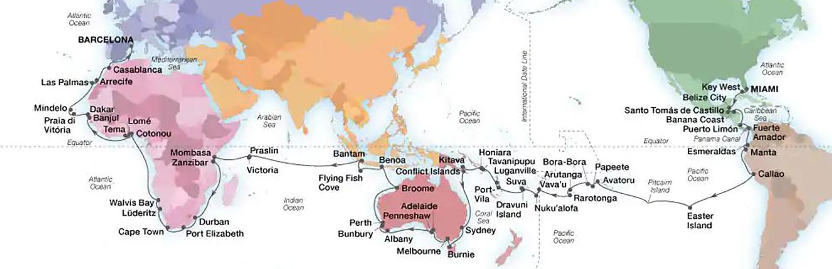 2023 World Cruise with Seabourn 1