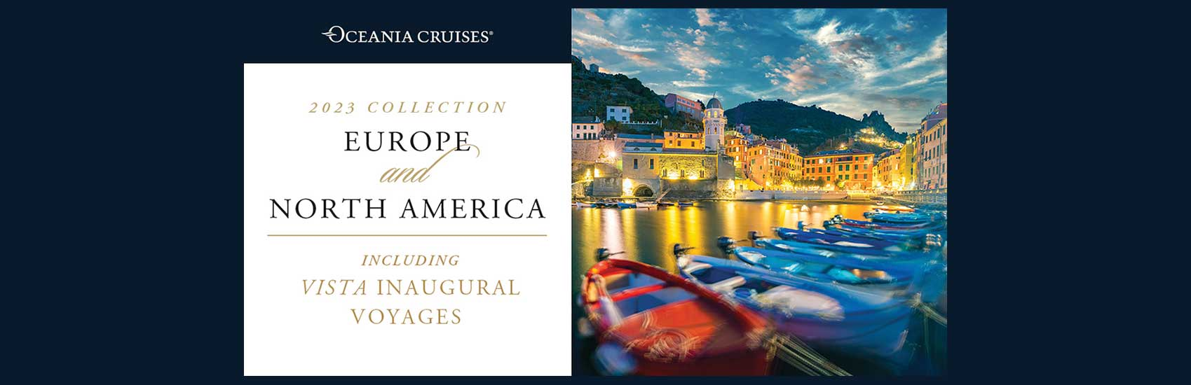 New 2023 North America and Europe Voyages with Oceania