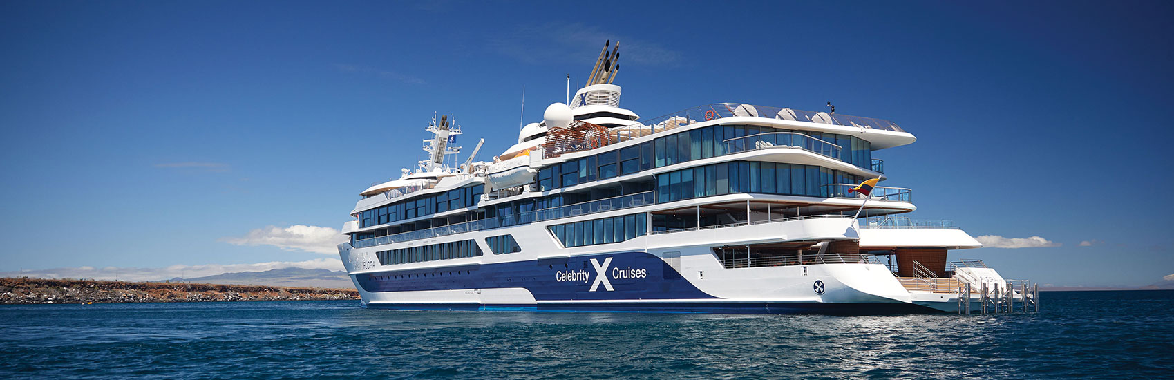 Explore the Galapagos on an All Suite Luxury Mega Yacht